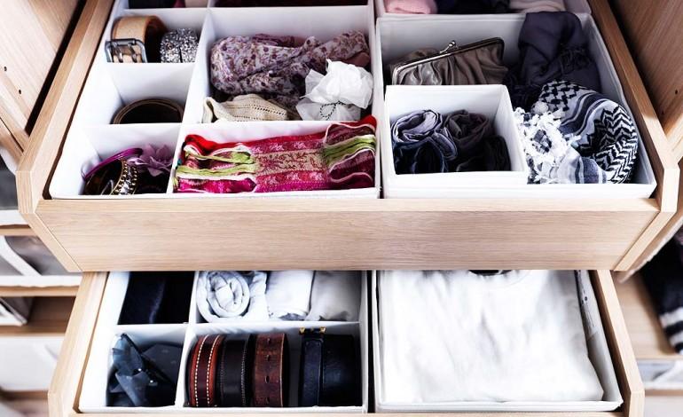 Come fare ordine nei cassetti come fare for Ikea ordine