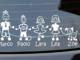 Adesivi auto famiglia personalizzati
